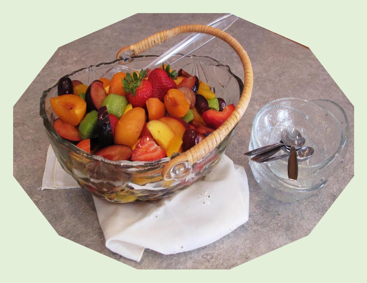 Kahlua Marinated Fruit