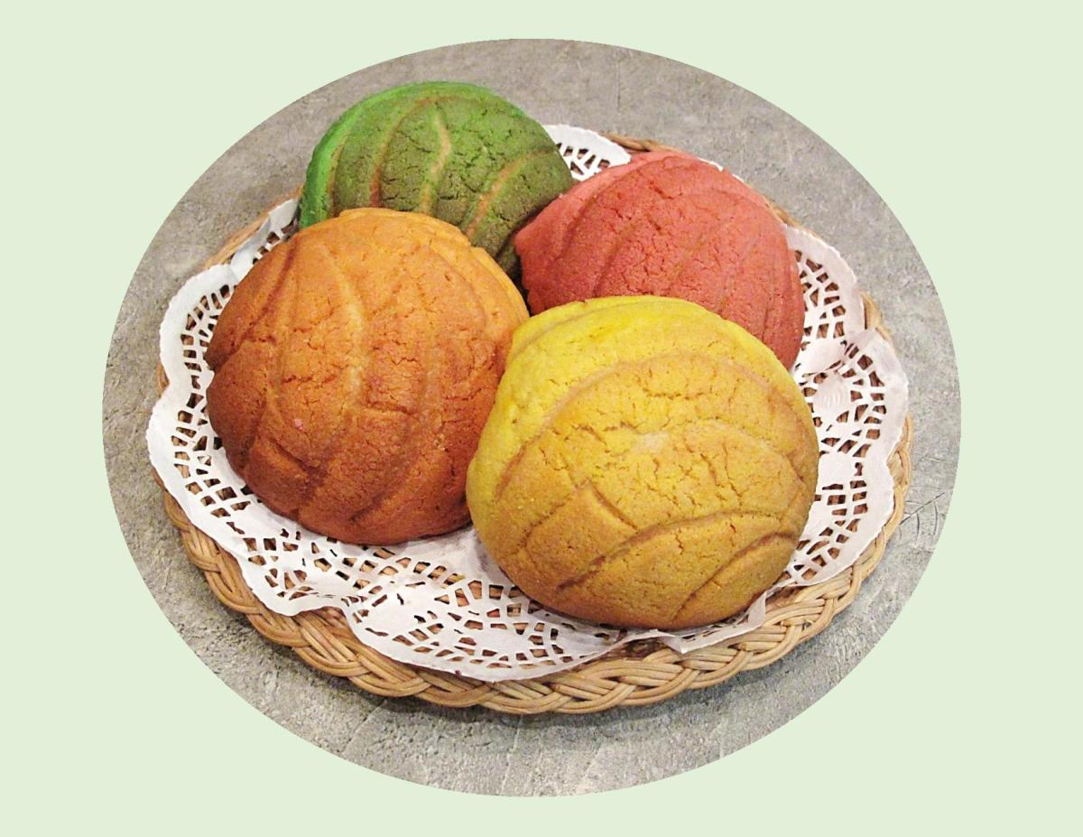 Mexican Sweet Buns or 'Conchas'