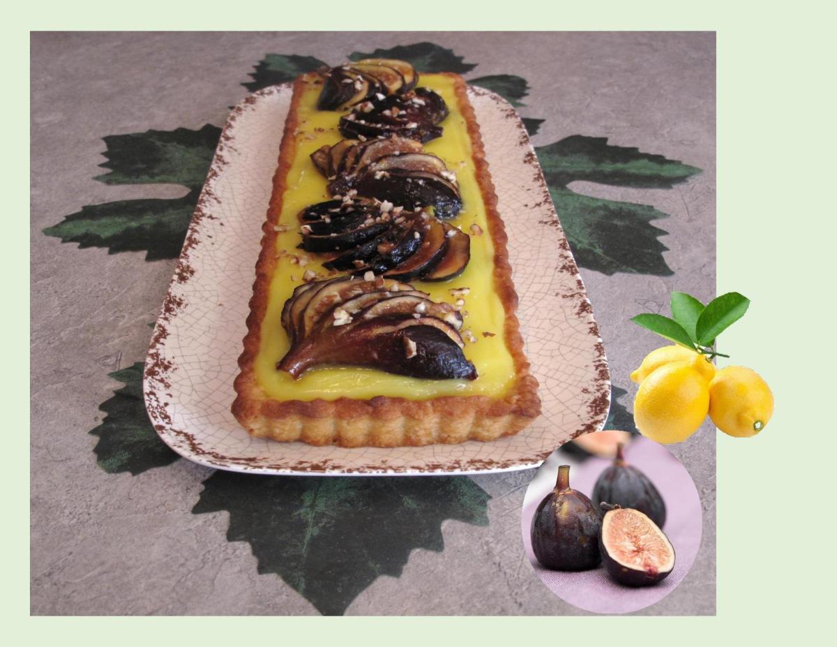 Lemon Fig Tart