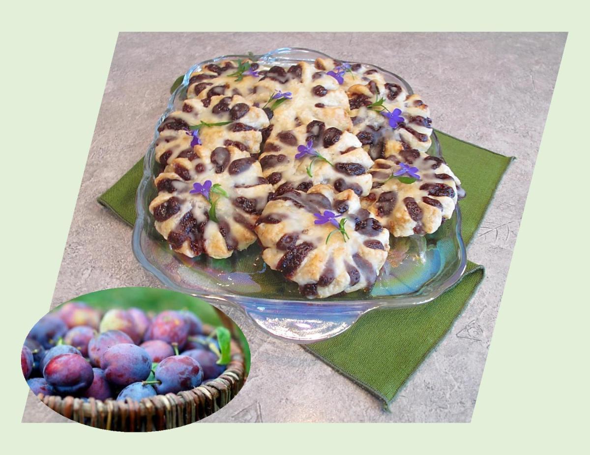 Plum Blossom Pastries