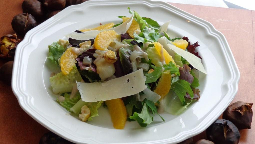 Chestnut Salad 2