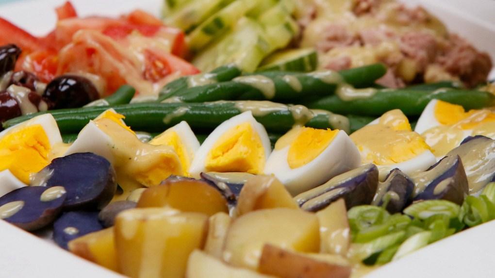 Salad Nicoise redone