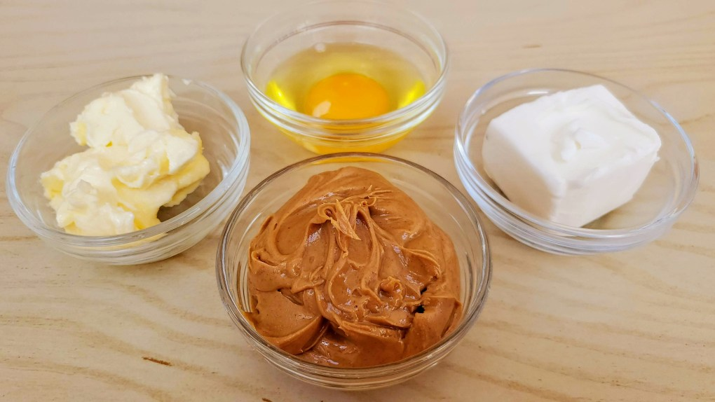Peanut Butter Cookie ingredients room temp