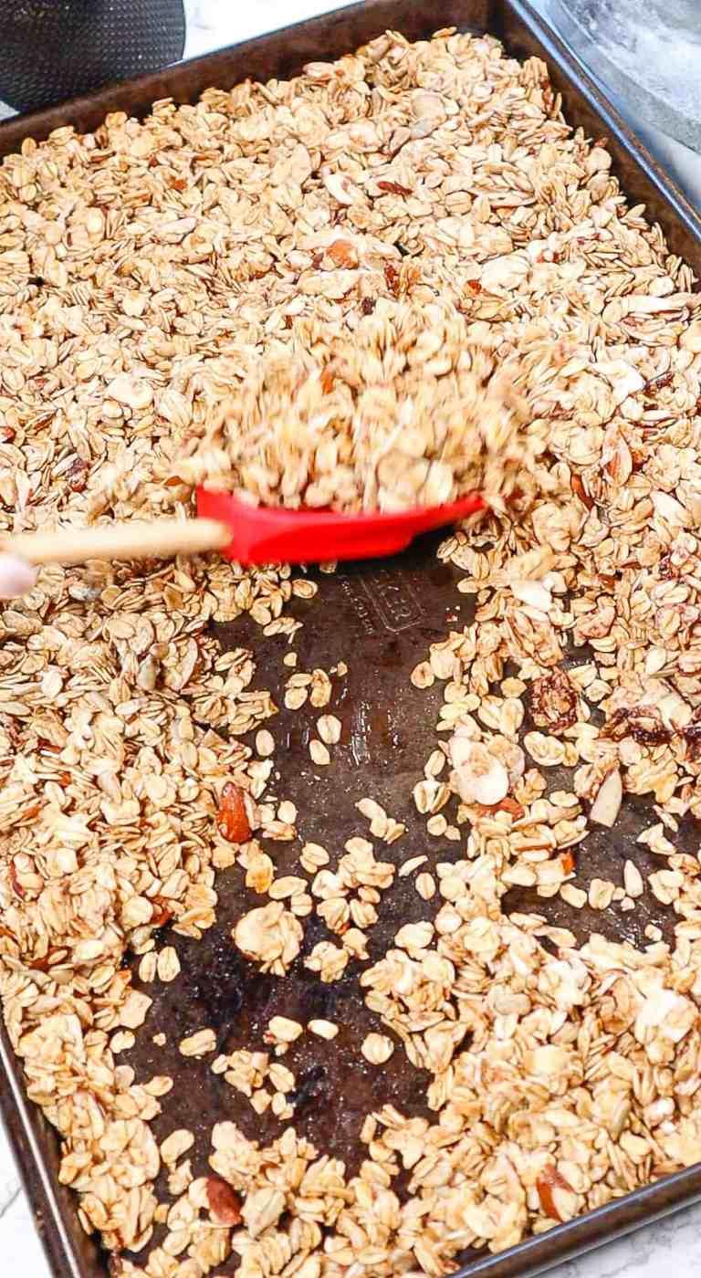 gluten free granola baked