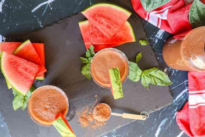 Fresh Watermelon Smoothie gfb