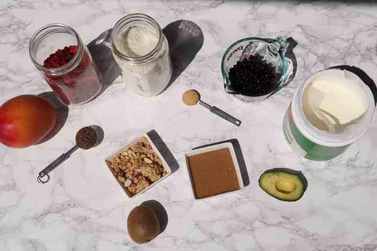 protein acai bowl ingredients