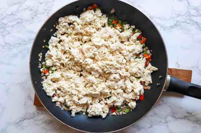 how to make tofu scramble
