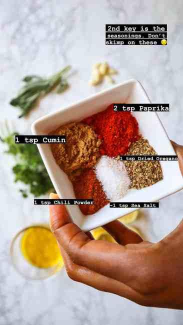 how to season lemon herb chicken