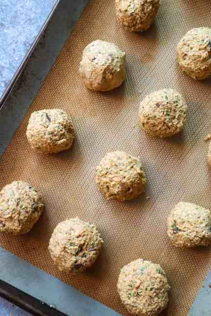 easy vegan eggplant meatball recipe