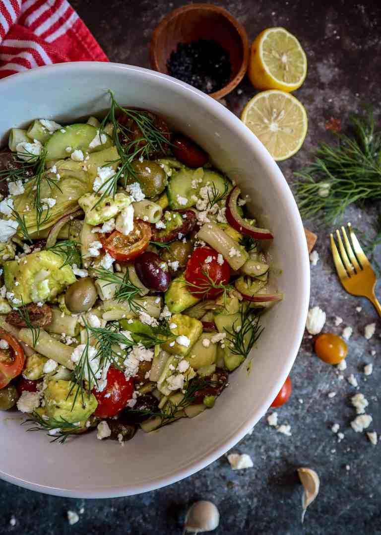 the best gluten free pasta salad recipe
