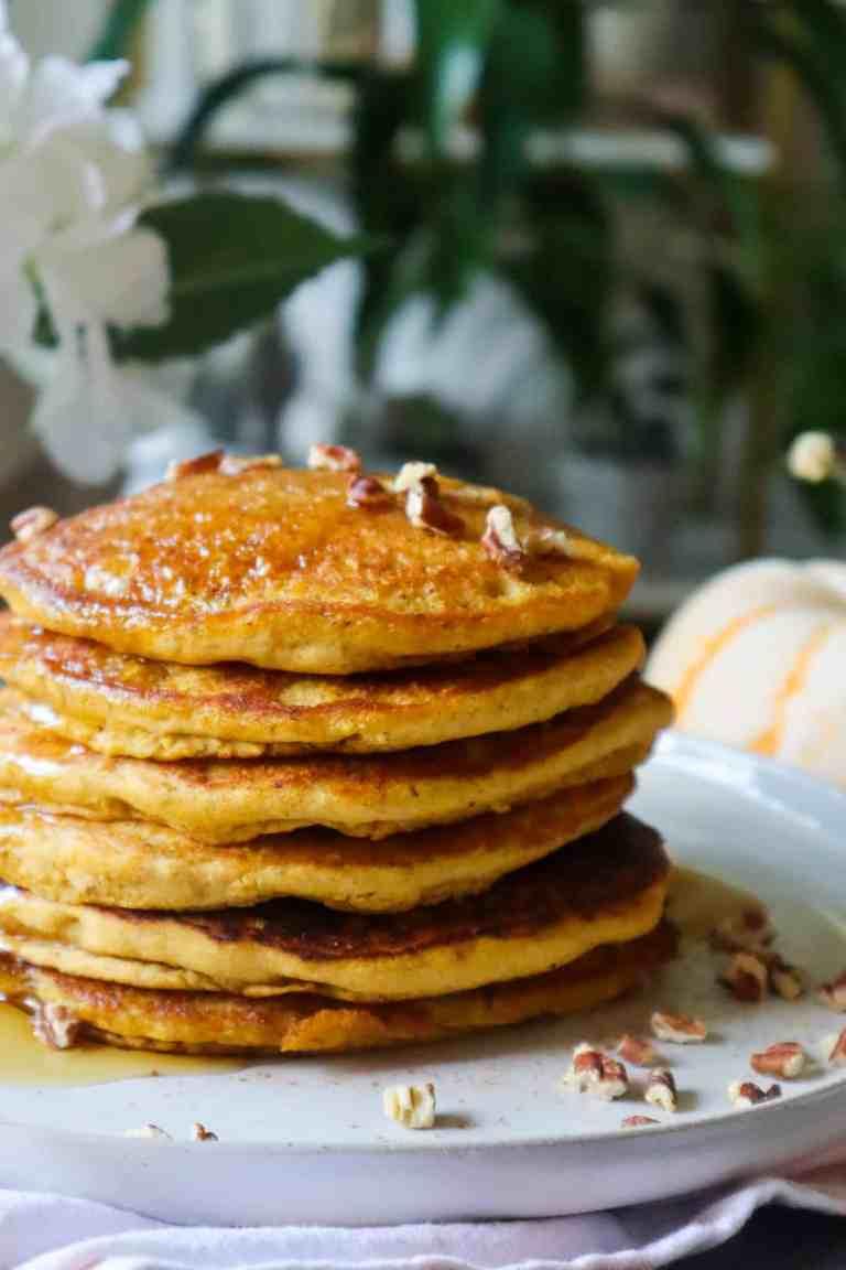 pumpkin pancakes recipe