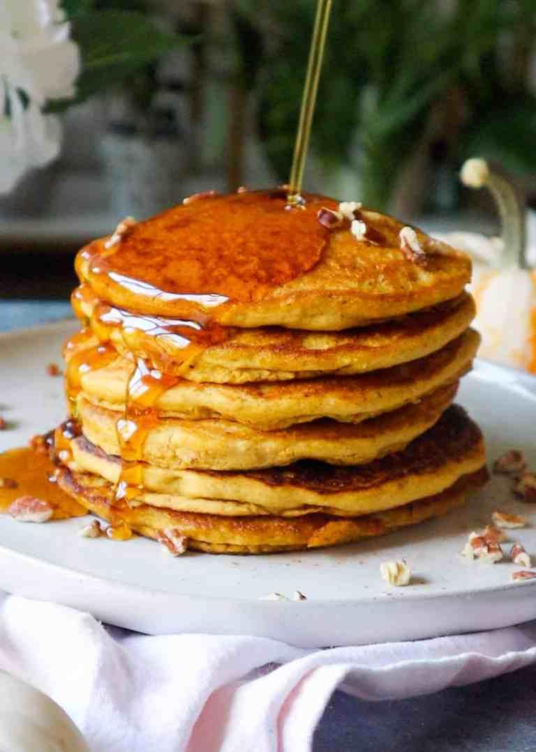 the best pumpkin pancakes