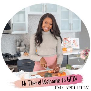 Capri Lilly Creator of GoodFoodBaddie