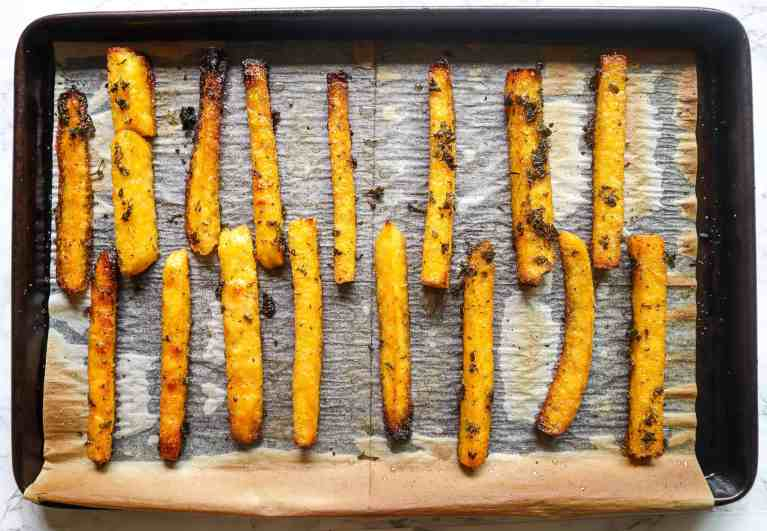 polenta fries gluten-free