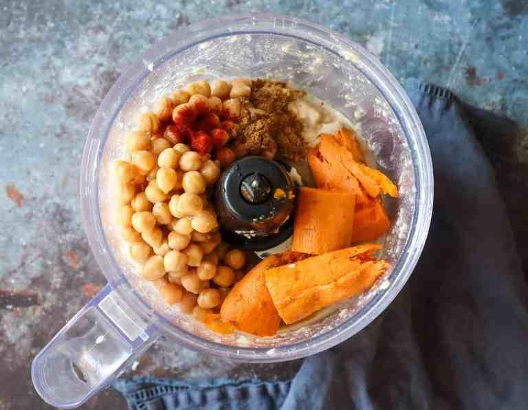 sweet potato hummus vegan