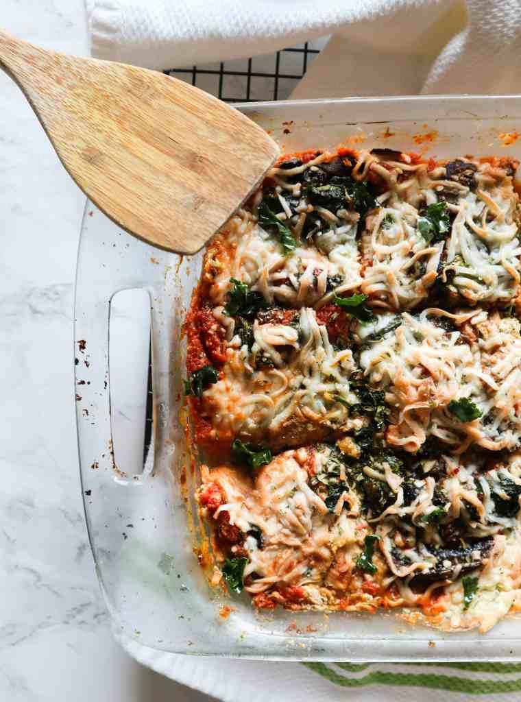 Vegan Eggplant Lasagna Dairy-Free
