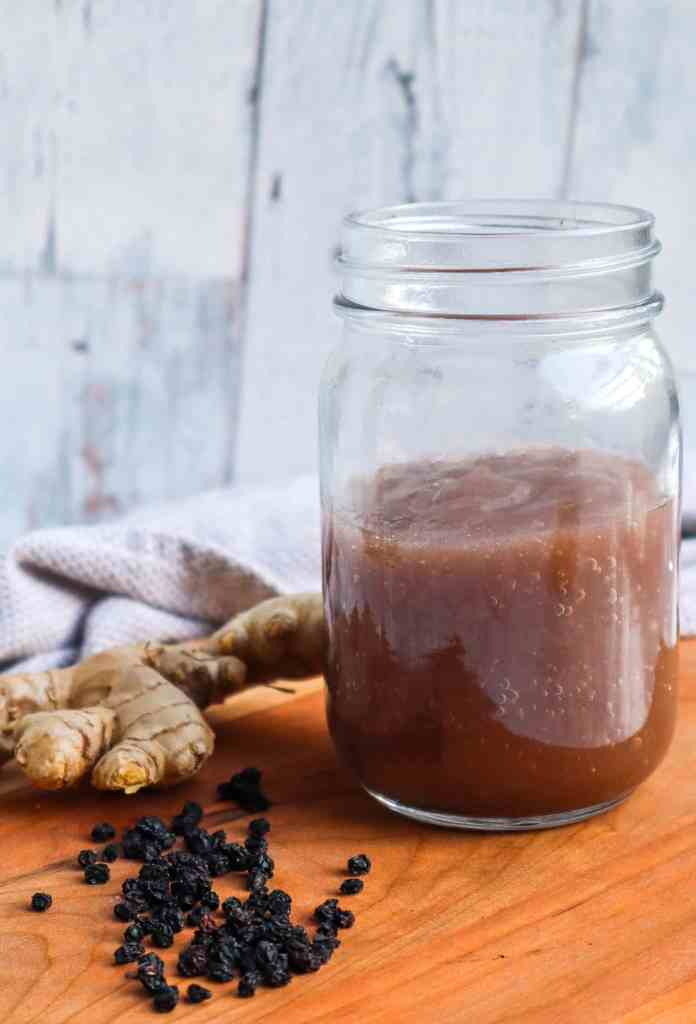 elderberry ginger infused sea moss gel recipe
