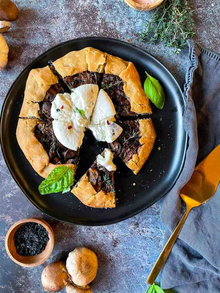 Mushroom Galette Recipe Good Food Baddie