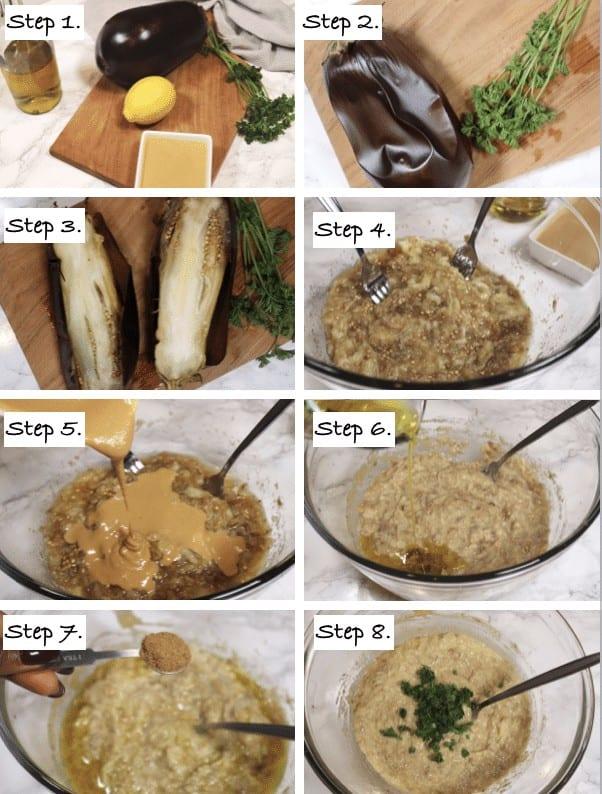 Steps to making Baba Ganoush Recipe