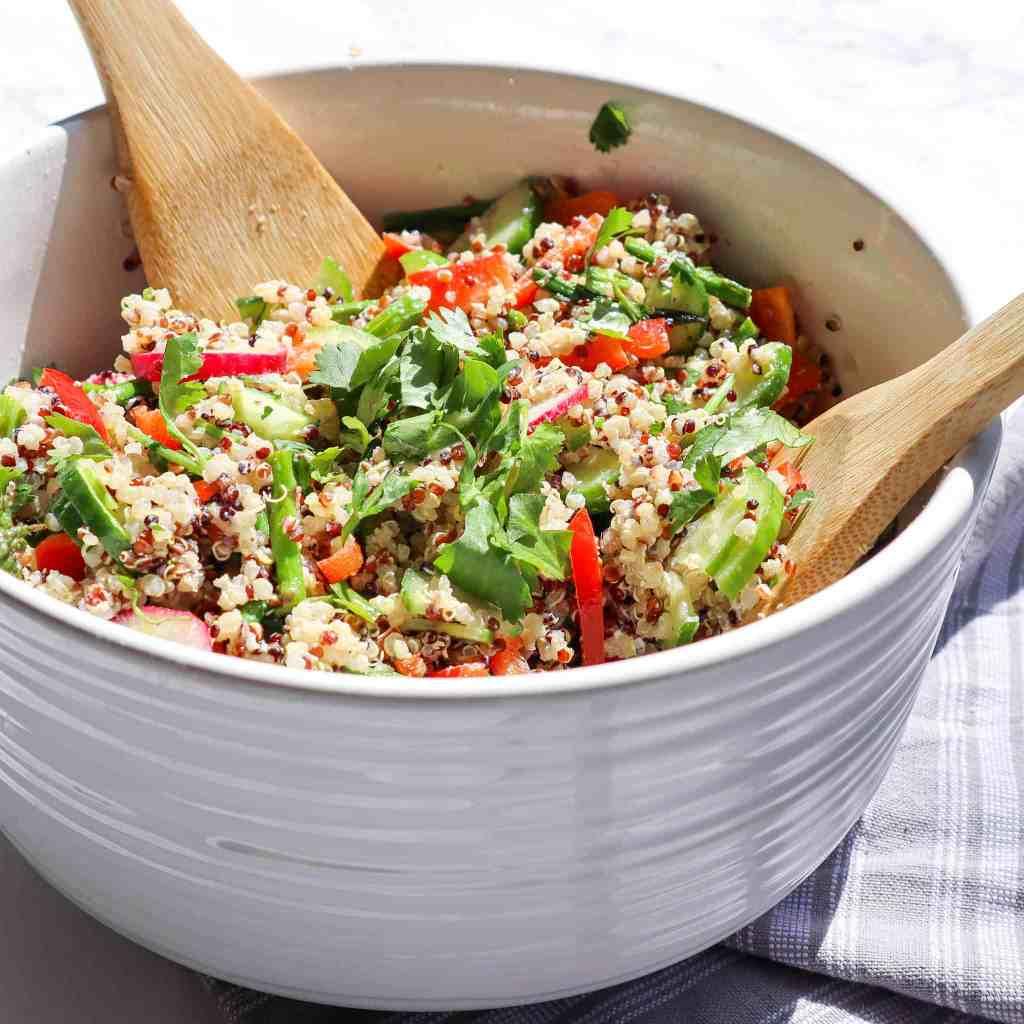 Quinoa Vegetable Salad Gluten Free