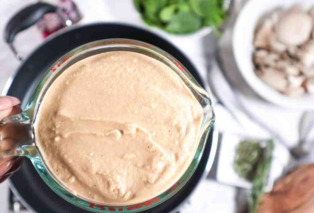 Cashew Cream Sauce for Pasta
