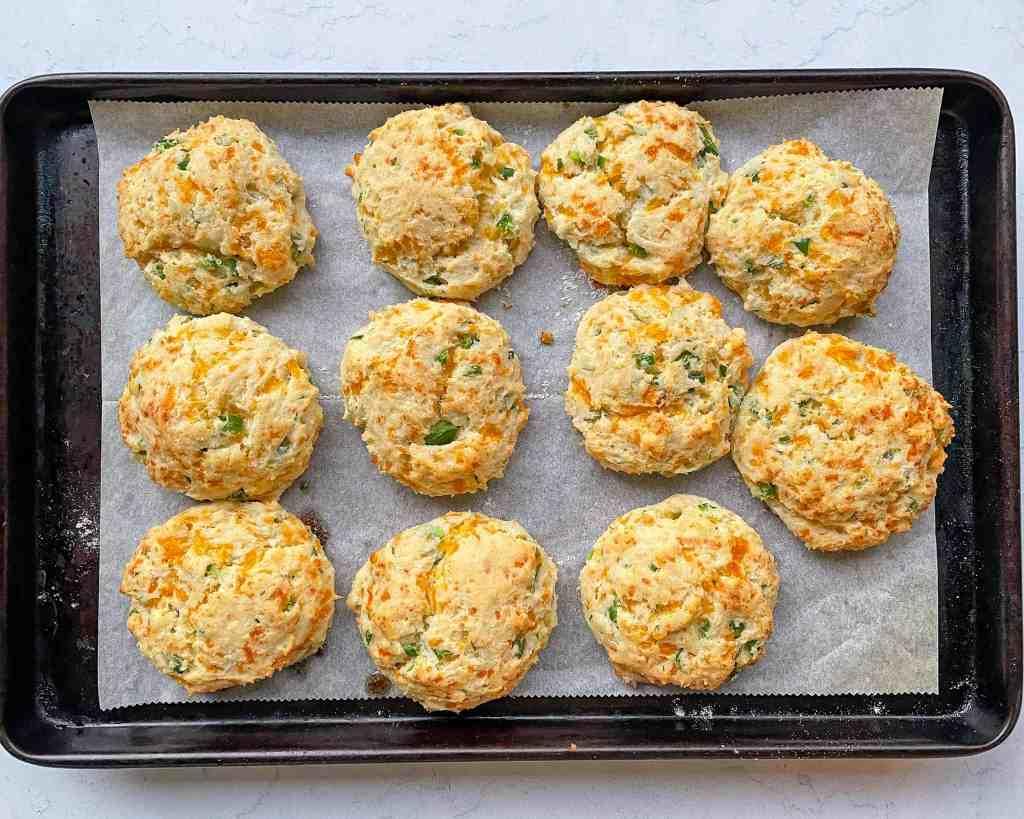 Homemade gluten free biscuits