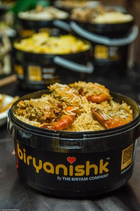 Malabar Seafood Biryani