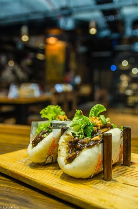 Slow Cooked Pork Bao