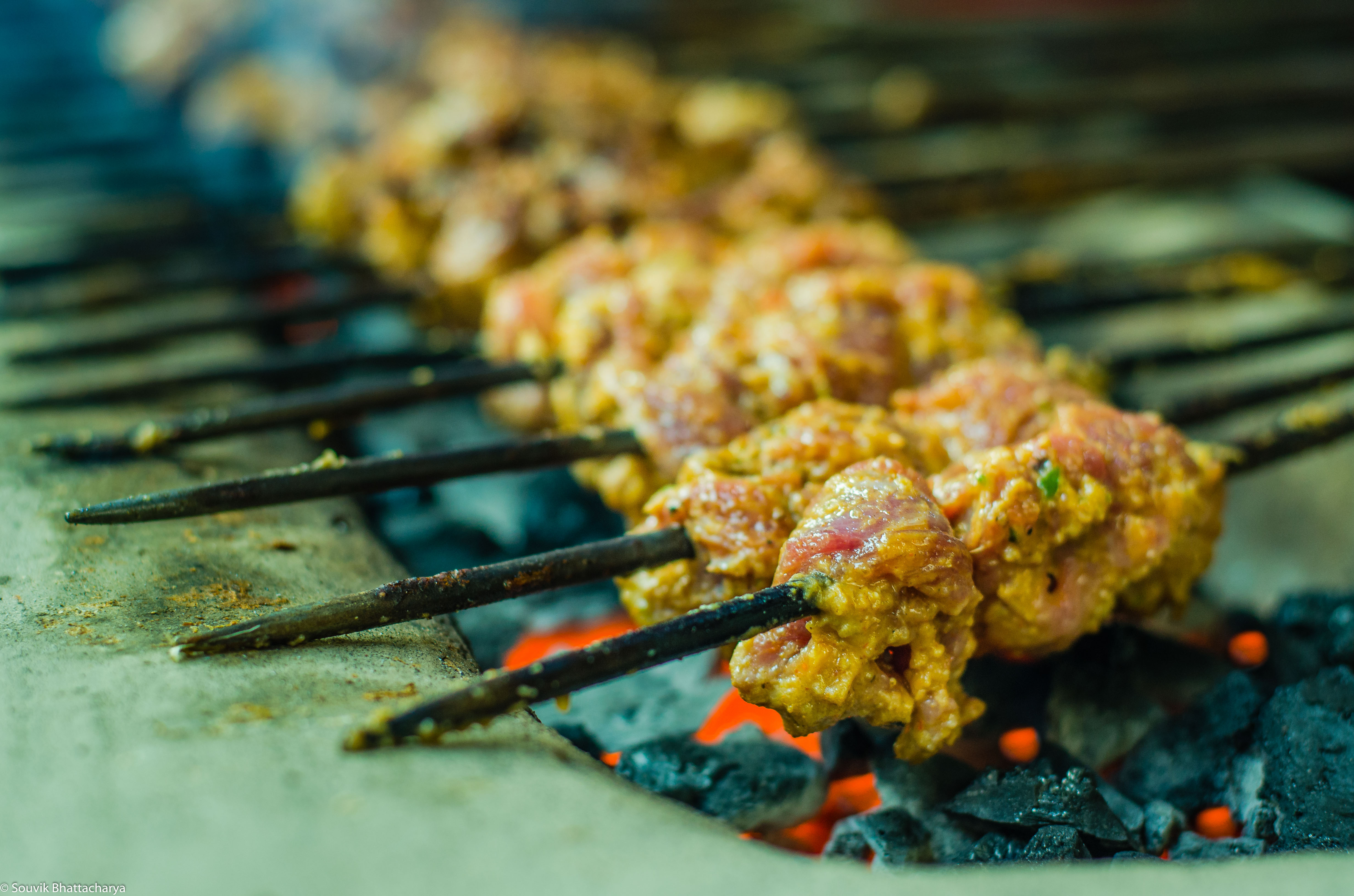 Beef Kabab, Bombay Hotel,Zakaria Street