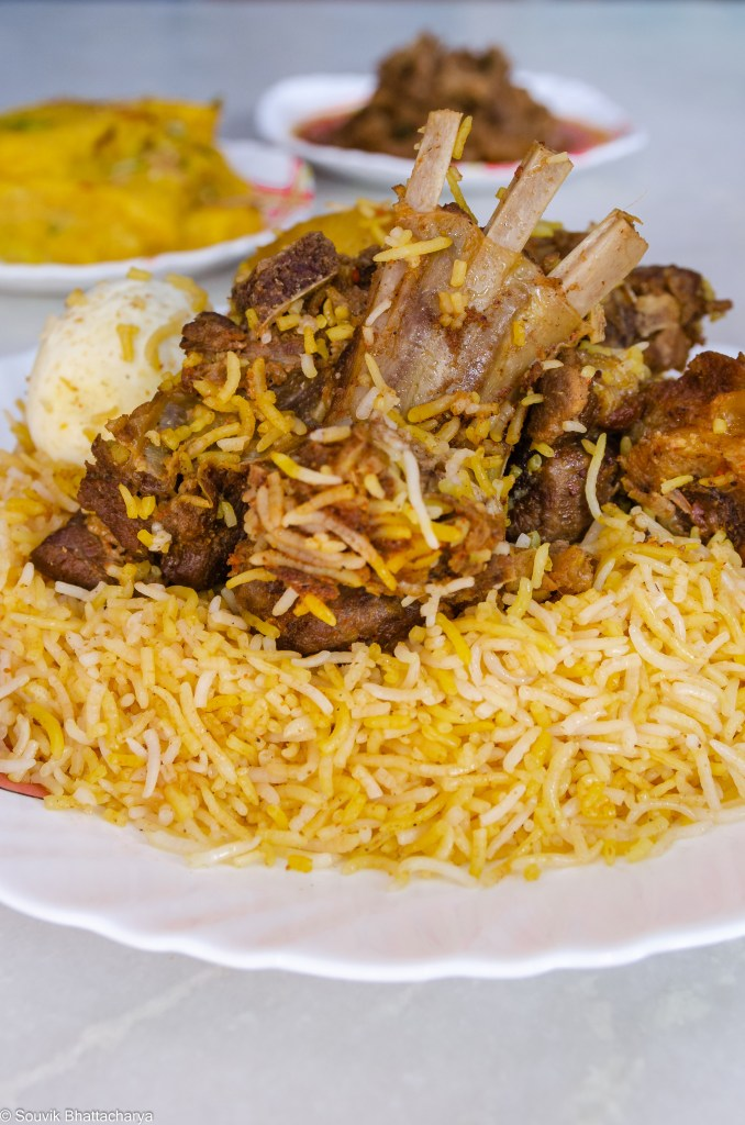 Mutton Biryani at Zam Zam Kolkata