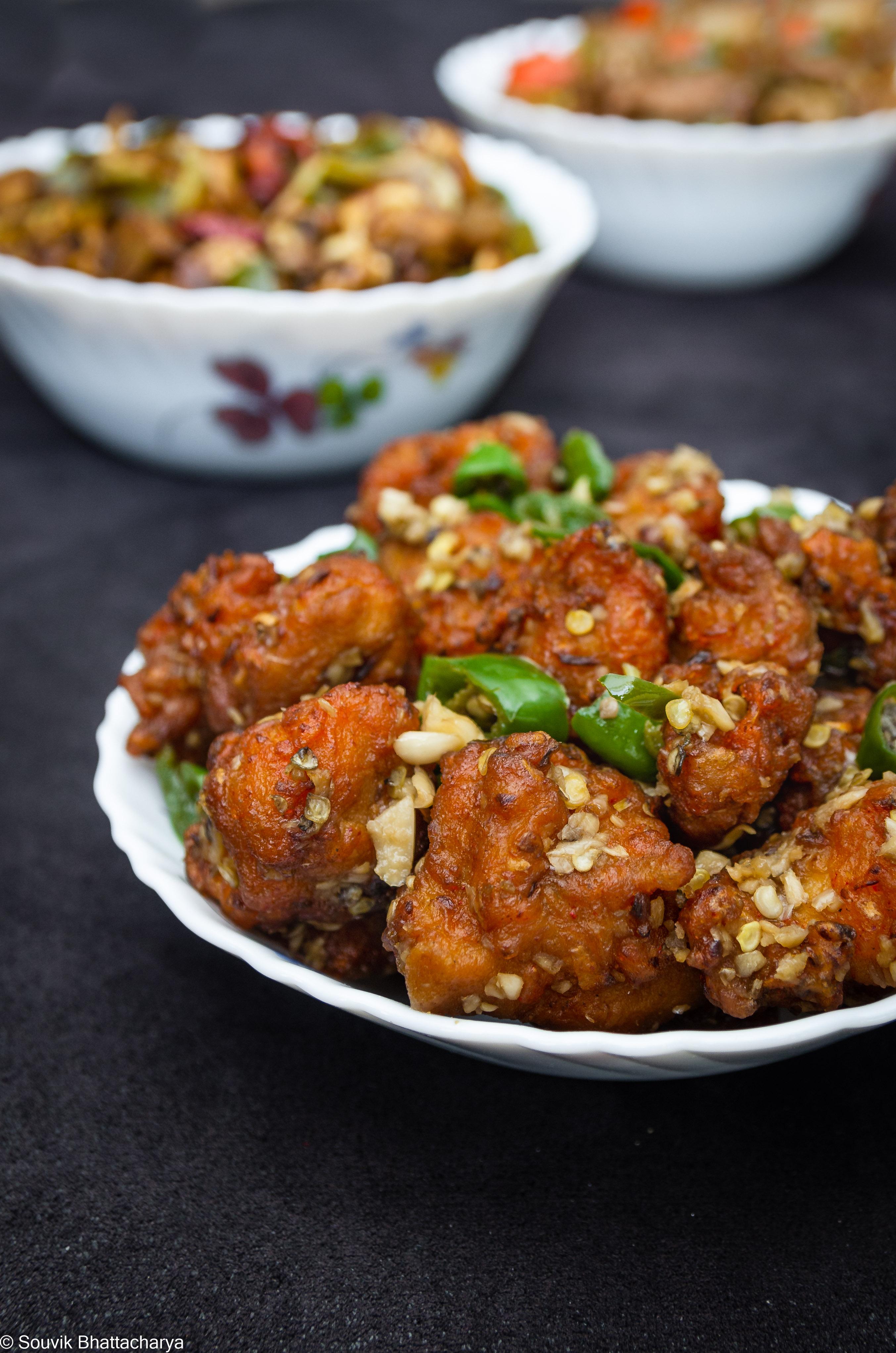 Chili Garlic Pepper Chicken at Royal Jade Kolkata