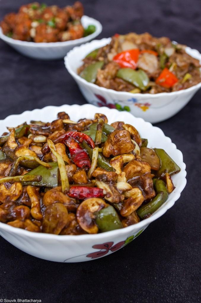 Kung Pao Chicken at Royal Jade Kolkata
