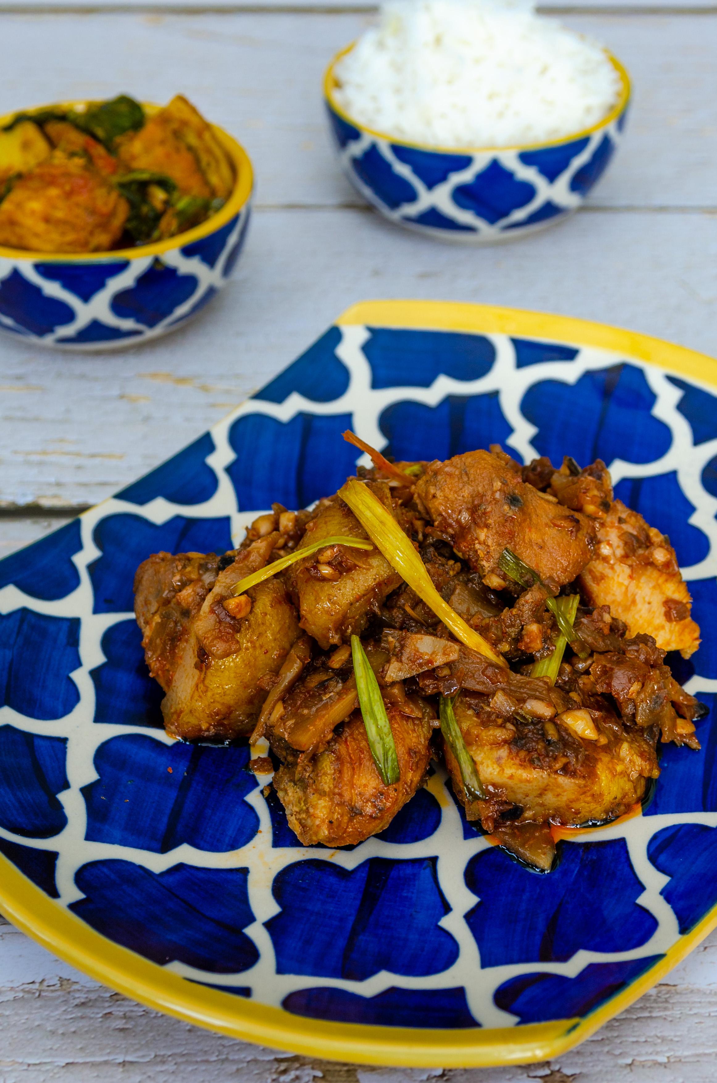Khorisa Pork, Pork Bamboo Shoot, Let's Poaka. Kolkata