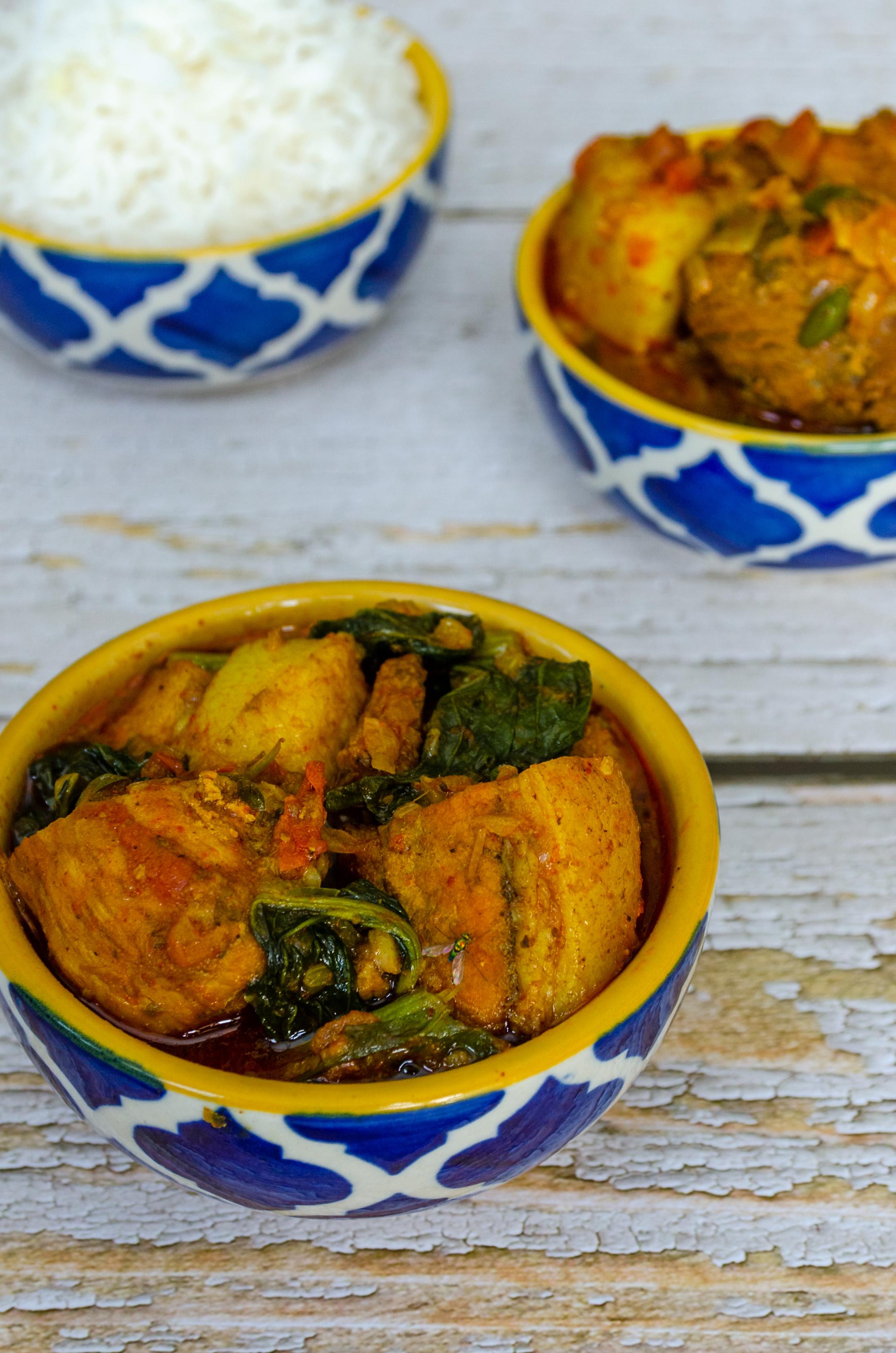 Pork Lai Xaak, Pork Mustard Green, Let's Poaka. Kolkata
