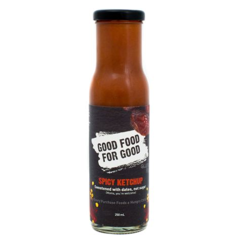 GOOD FOOD FOR GOOD Spicy Ketchup, Sweetened with Dates