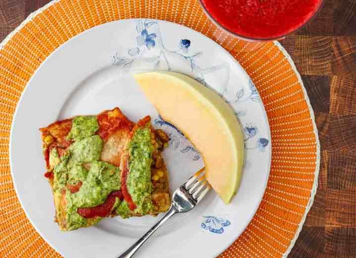 vegan mexican pizza