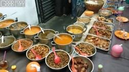 nasi uduk ibu sum dishes offering