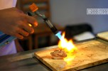 blowtorching the aburi