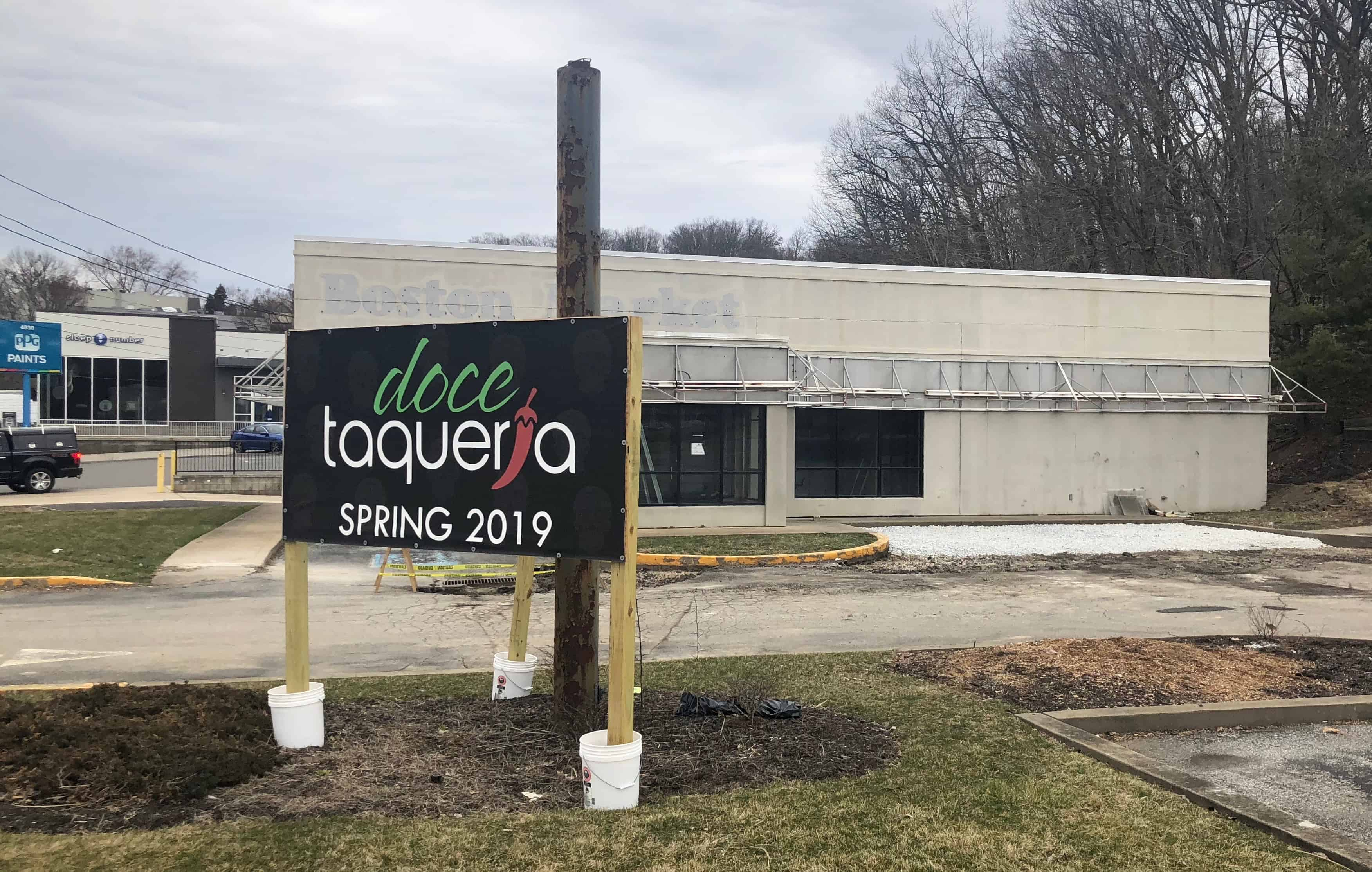 doce taqueria opening second location