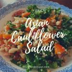 Asian Cauliflower Salad
