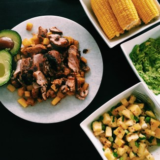 GoodFoodWeek's pork and pineapple tacos