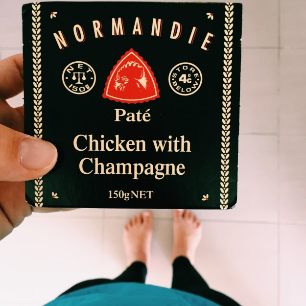 Normandie Pate - Chicken with Champagne