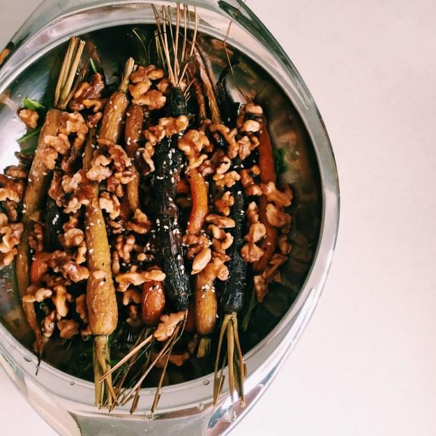 GoodFoodWeek's roast carrot salad