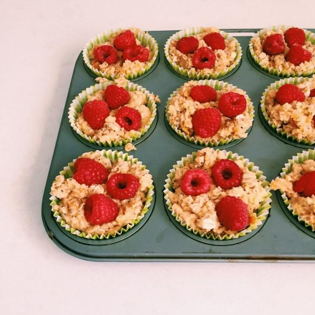 The Toddler Ingredient's breakfast muffins - recipe on Instagram