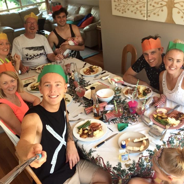 GoodFoodWeek's family Christmas