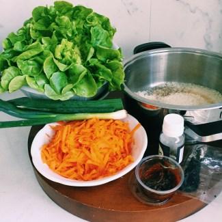 Marley Spoon's Korean BBQ pork