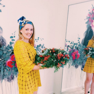 GoodFoodWeek at Lady Larissa's floral workshop