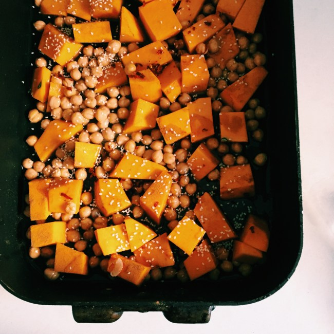GoodFoodWeek's middle eastern chickpeas and pumpkin