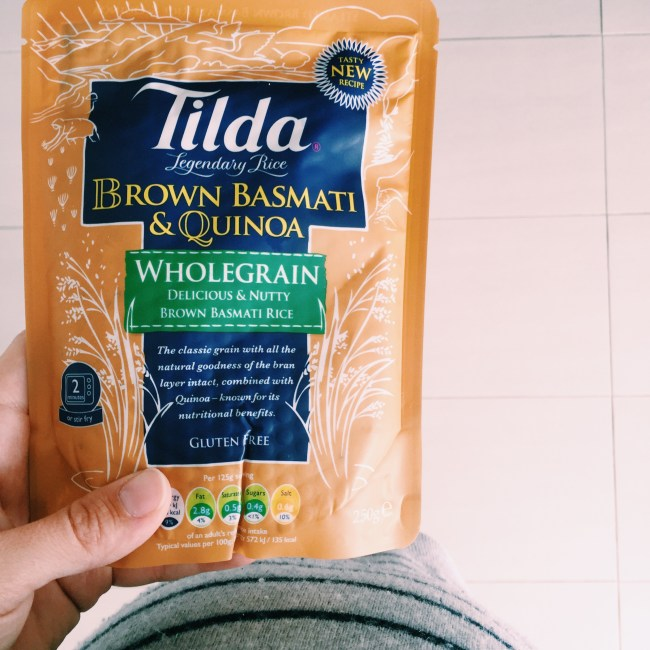 Brown Basmati and Quinoa from Tilda