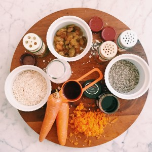 Recipe: Carrot cake overnight oats